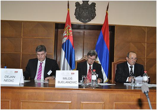 Радно председништво Треће регионалне конференције у Скупштинској сали, 25.10.2015.